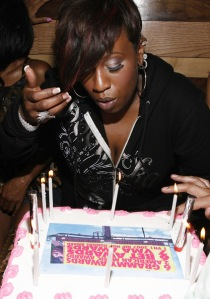 Happy Earthday, Missy Elliot.  Rapper/Producer turns 41, June 1st 2012