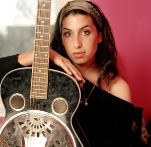Amy and her guitar