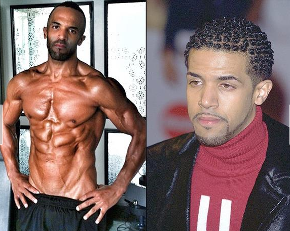 Craig David as he looks now (on the left) and before (on the right). Copyright Craig Ashley David