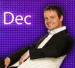 Declan Donnelly - better known as one half of Ant n Dec