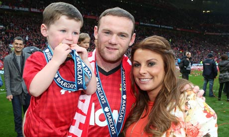 Wayne and Coleen Rooney with eldest son, Kai Image Source: www.static.guim.co.uk