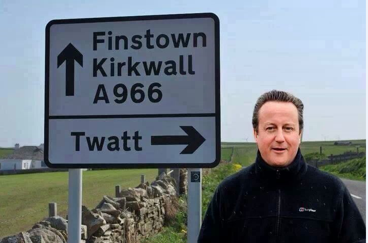 If you want to find a twat, follow the sign