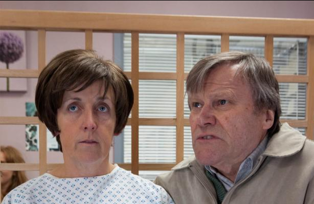 Corrie favourites... Hayley and Roy