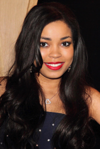 Dionne Bromfield, singer and presenter of Friday Download, CBBC