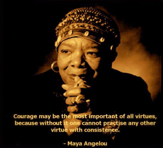 courage maya virtue