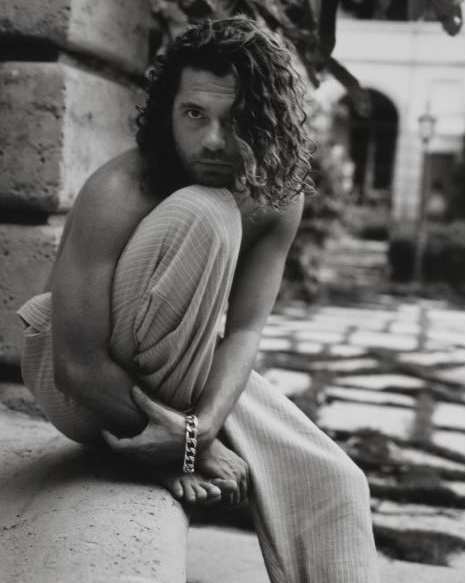 Tousled sexiness - Michael Hutchence
