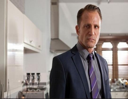 Hollyoaks resident Mr Evil, Patrick Blake, played by Jeremy Sheffield
