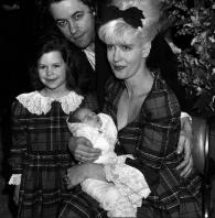 Paula, Bob, Fifi and baby Peaches