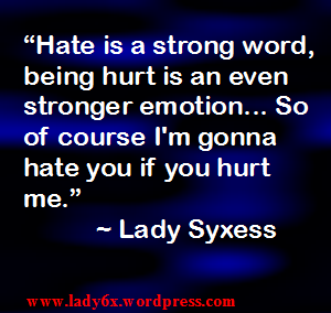 #QUOTE – Hate