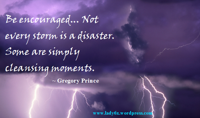 #QUOTE – Braving The Storm
