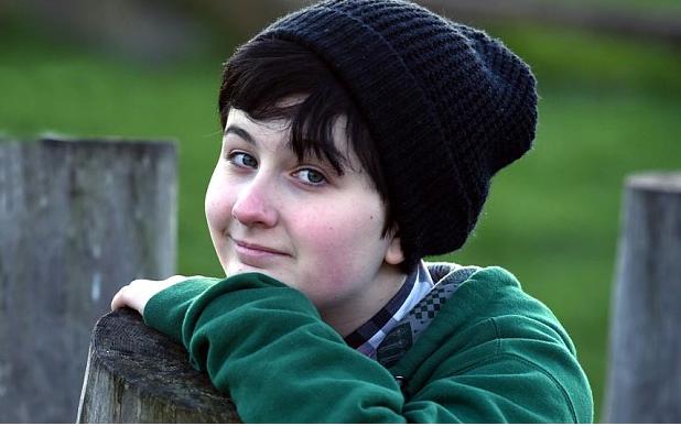 Transgender Teen Jordan Morgan
