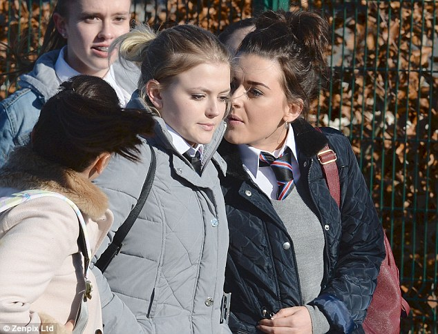 Bethany getting grief from Mercedes and co Image Source: The Daily Mail