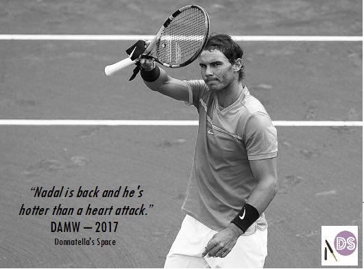 Vamos! Donnatella's Space Backs Rafa Nadal To Win Wimbledon2017