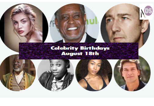 Celebrity Birthdays – August 18th