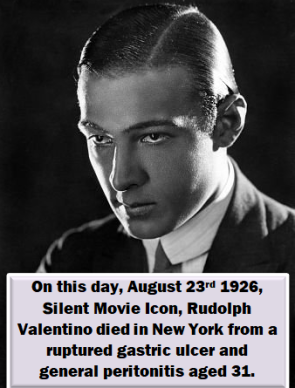 Rudolph Valentino by Donnatella's Space