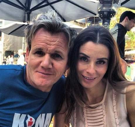 Tana and Gordon Ramsay