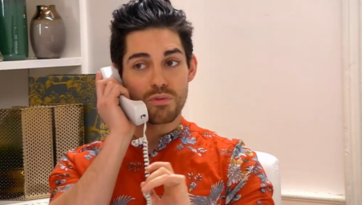 Celebs Go Dating receptionist tom read wilson