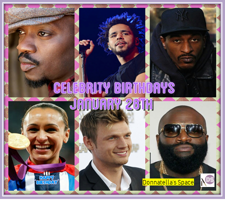 Celebrity Birthdays January28th
